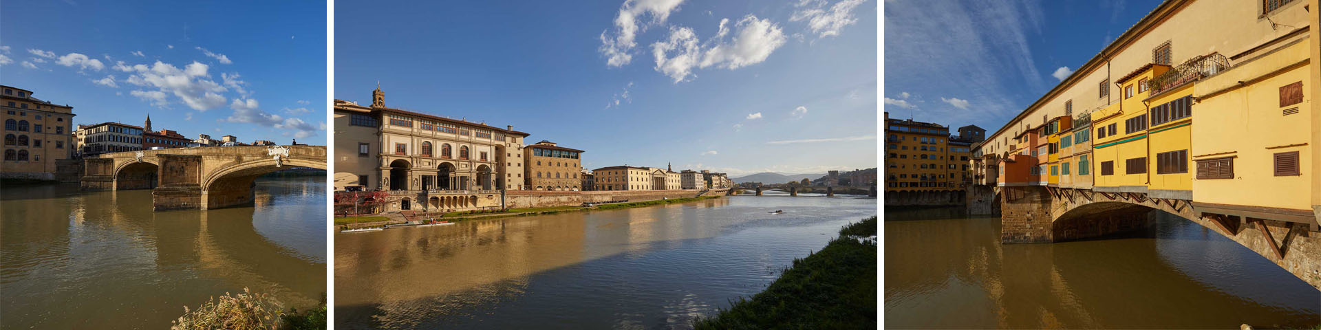 The Arno from Rovezzano to the Cascine