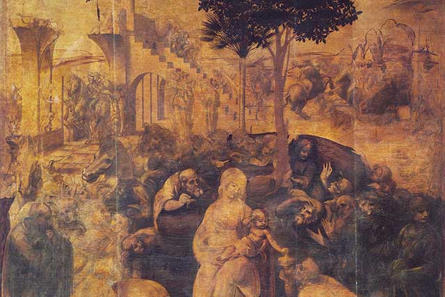 Leonardo da Vinci, Adoration of the Magi