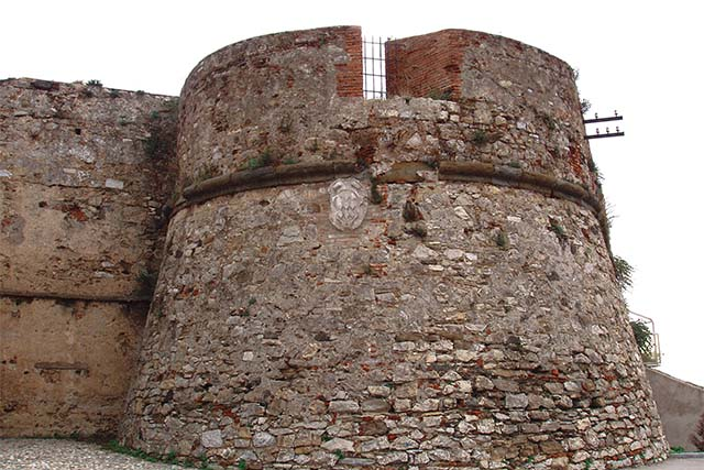 The Medici Fortress of Piombino