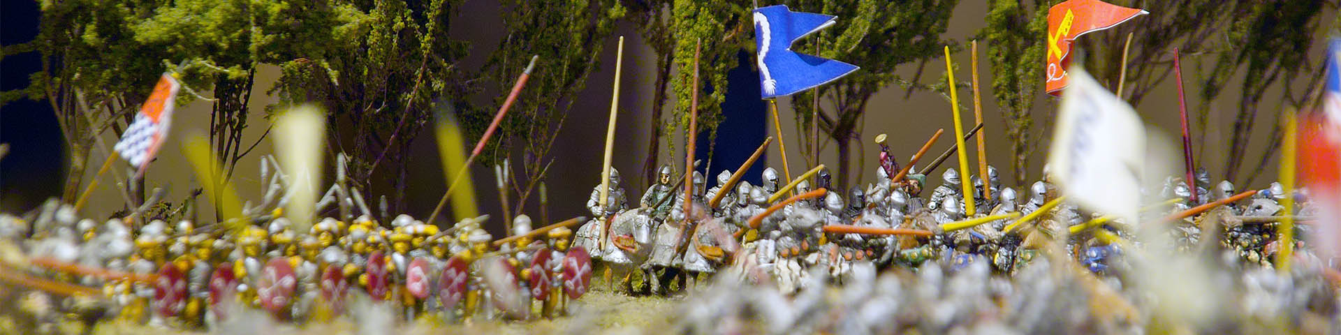 Museo della Battaglia e di Anghiari, scale model of the battle