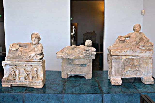 Urns in the Guarnacci Museum, Volterra