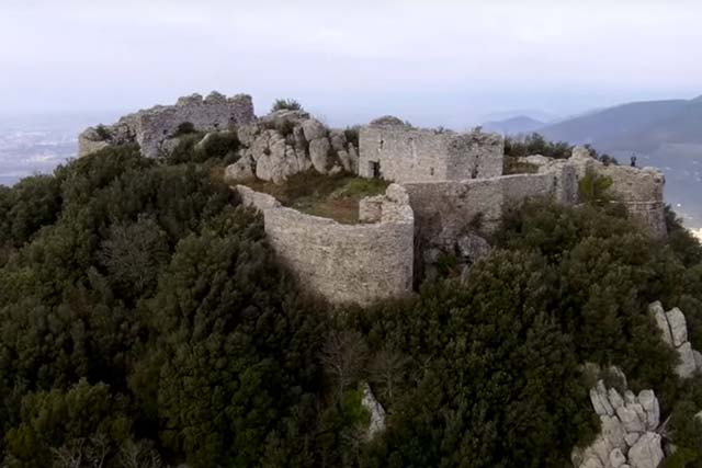 Verruca fortress, Calci